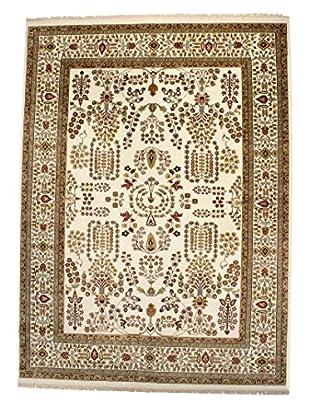 F.J. Kashanian Manor Hand-Knotted Rug, Ivory/Ivory, 9' x 12'