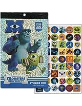 WeGlow International Disney's Pixar Monsters University Sticker Pad (Set of 3)
