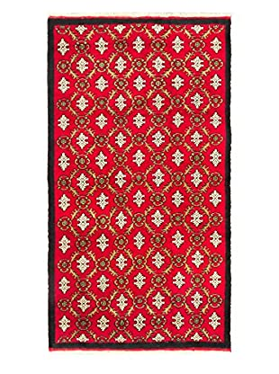 eCarpet Gallery One-of-a-Kind Hand-Knotted Keisari Rug, Red, 4' 10