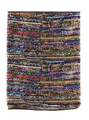 SIGNES DECORA Alfombra Rayitas Multicolor 120X180