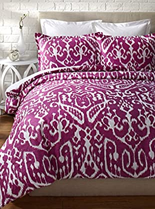 Trina Turk Ikat Comforter Set (Purple)
