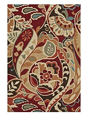 Loloi Rugs Summerton Rug (Red/Multi)