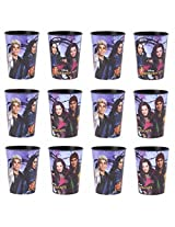 Disney Lot Of 12 Descendants 16oz Reusable Party Plastic Cup ~Party Favor Supplies~