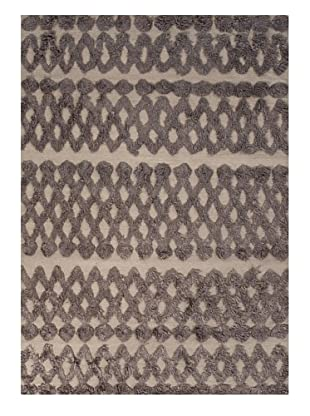 Jaipur Rugs Hand Made Rug, Grey/Black, 5' x 8'