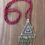 Vinatge afghan Pendant neckchain - NRBSEN620