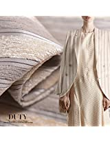 Ultra high-end silk / cashmere blended fabric silk fabrics thick autumn and winter fashion clothing.