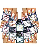 Nail Art Water Slide Tattoo Stickers Decals Spring Blossoms 10 Pack