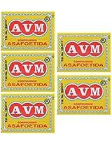AVM Compounded Asafoetida Cake, 25 grams (Pack of 5)