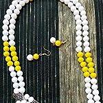 Simple glass beads design