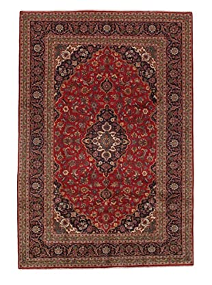 Rug Republic One Of A Kind Persian Kashan Rug, Red/Blue/Antique Ivory/Multi, 8' 2