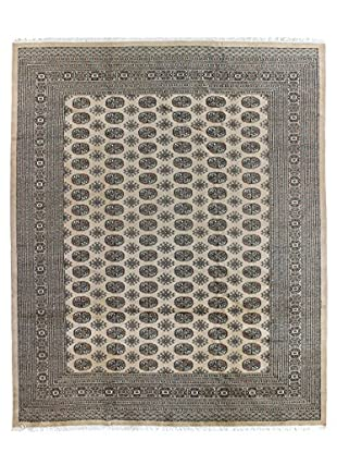 Bashian Rugs One-of-a-Kind Hand Knotted Paki Bukara Rug, Beige, 8' 1