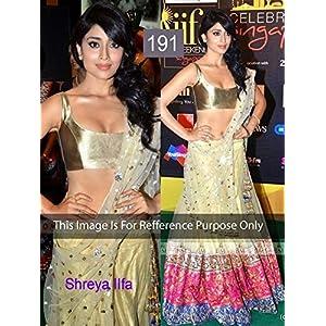 bollywood replica Shreya IIFA Awards Lehnga Saree