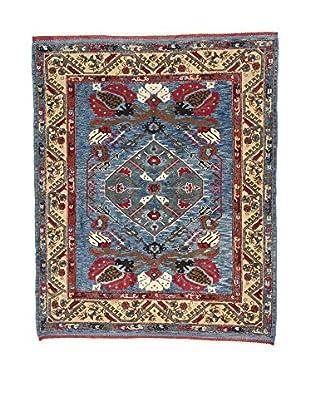 L'Eden del Tappeto Teppich Konya Antik blau/rot/beige 203t x t169 cm