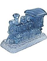 Locomotive Train 3D Acrylic Plastic Crystal Fun Brain Teaser Puzzle 38 Pcs