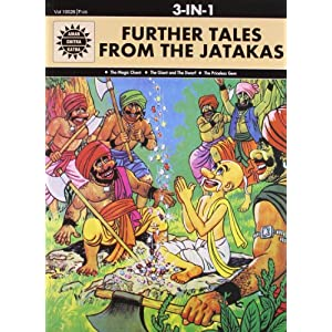 Further Tales from the Jatakas: 3 in 1 (Amar Chitra Katha)