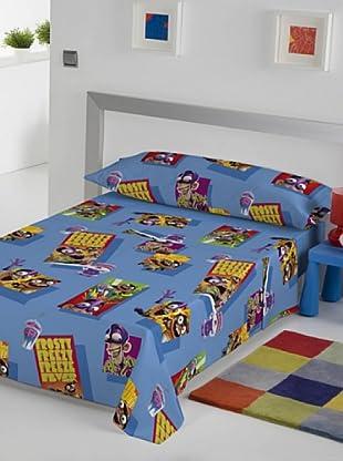 Euromoda Licencias Juego de Sábanas Fan Boy & Chum Chum Frosty (Multicolor)