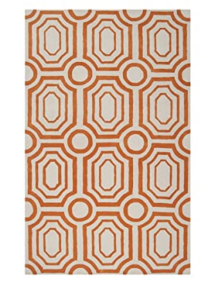Surya Hudson Park Rug, Golden Ochre/Winter White, 8' x 10'