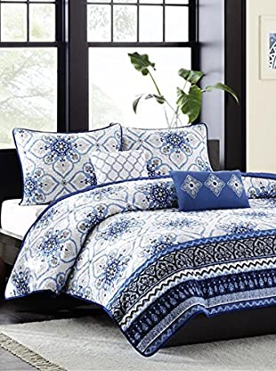 Luxury Home Cassy 5-Piece Coverlet Set