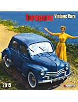 European Vintage Cars 2015 (Media Illustration)