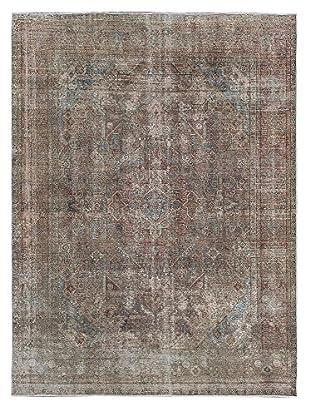 eCarpet Gallery Color Transition Rug, Khaki Grey, 9' x 12'