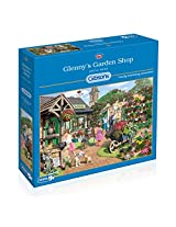 Gibsons Glenny's Garden Shop Jigsaw 1000 Pieces Puzzle