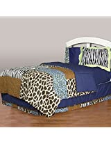 One Grace Place Jazzie Jungle Boy Twin Bedding Set, 6 Piece