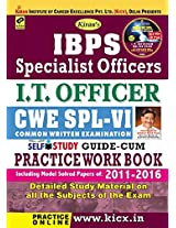 Kiran's IBPS Specialist Officers I.T. Officer CWE SPL - VI Self Study Guide cum Practice Work Book (with CD) - 1755