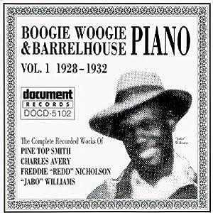 Boogie Woogie & Barrelhouse Piano