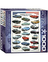 American Cars of The Fifties Puzzle, 1000-Piece