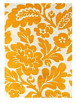 Jaipur Rugs Hand-Tufted Easy Care Rug (Yellow/Ivory)