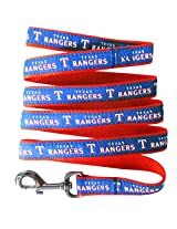 Pets First MLB Texas Rangers Pet Leash, Large