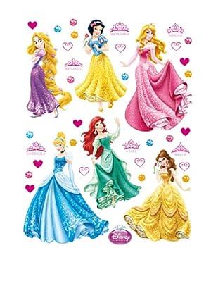 Pegatinas Decoración Princesas 45 x 65