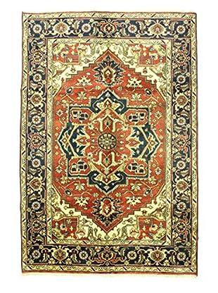 Bashian Hand Knotted Indo Rug, Rust, 6' x 8' 10