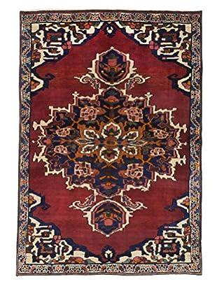 Darya Rugs Authentic Persian Rug, Multi, 5' x 8'