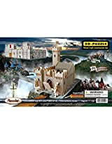 Puzzled Fortress Wooden 3D Puzzle Construction Kit