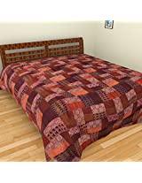 "Sadna Cotton Throw - 89.8""x 107.9"", Multicolor"