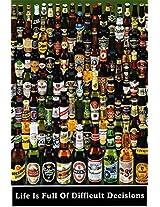 AllPosters, 'Beer Bottles', Poster (Paper, 91 cm x 61 cm)