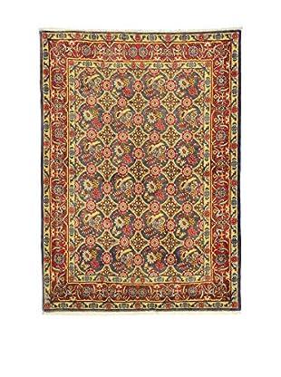 L'Eden del Tappeto Teppich Varamin Sab rot/mehrfarbig 210t x t150 cm