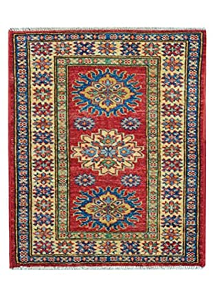 Kalaty One-of-a-Kind Kazak Rug, Red, 2' x 2' 8