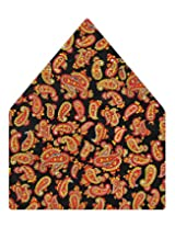 Tiekart Printed Silk Pocket Square (Ps378_Multi)