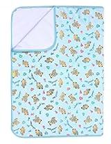 Mee Mee - Bear Print Light Blue Changing Mat