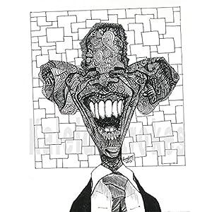 Kaleidostrokes Caricature - Barack Obama