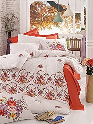 Colors Couture Bettdecke und Kissenbezug Sarm