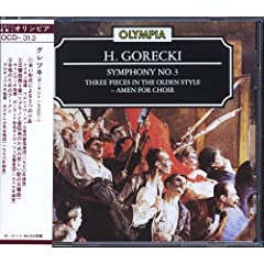 Gorecki - Orchestral and Vocal Works