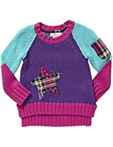 Design History Star Sweater (Toddler/Kid) - Playful Purple-4