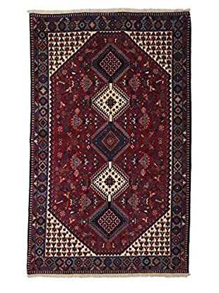Darya Rugs Persian One-of-a-Kind Rug, Red, 5' x 8'