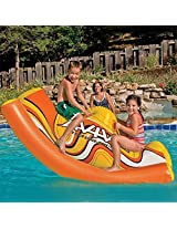 Kids Durable Inflatable See Saw Pool Toys. Inflatable Floats Toys Pool River Lake Water Swimming Pool Tube Fun Pools Sea Saw See Saw Sea Saw