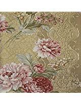 Mystyle Heavy Vinyl On Non Woven Wallpaper (21 Inches x 396 Inches)