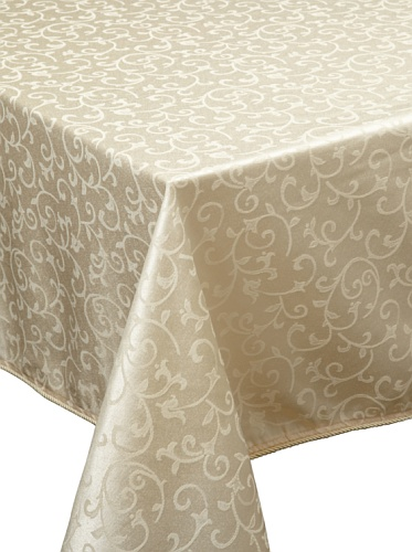 Lenox Opal Innocence Tablecloth (Ivory)