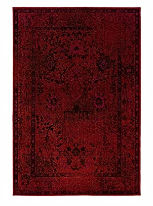 Granville Rugs Vintage Rug (Red)